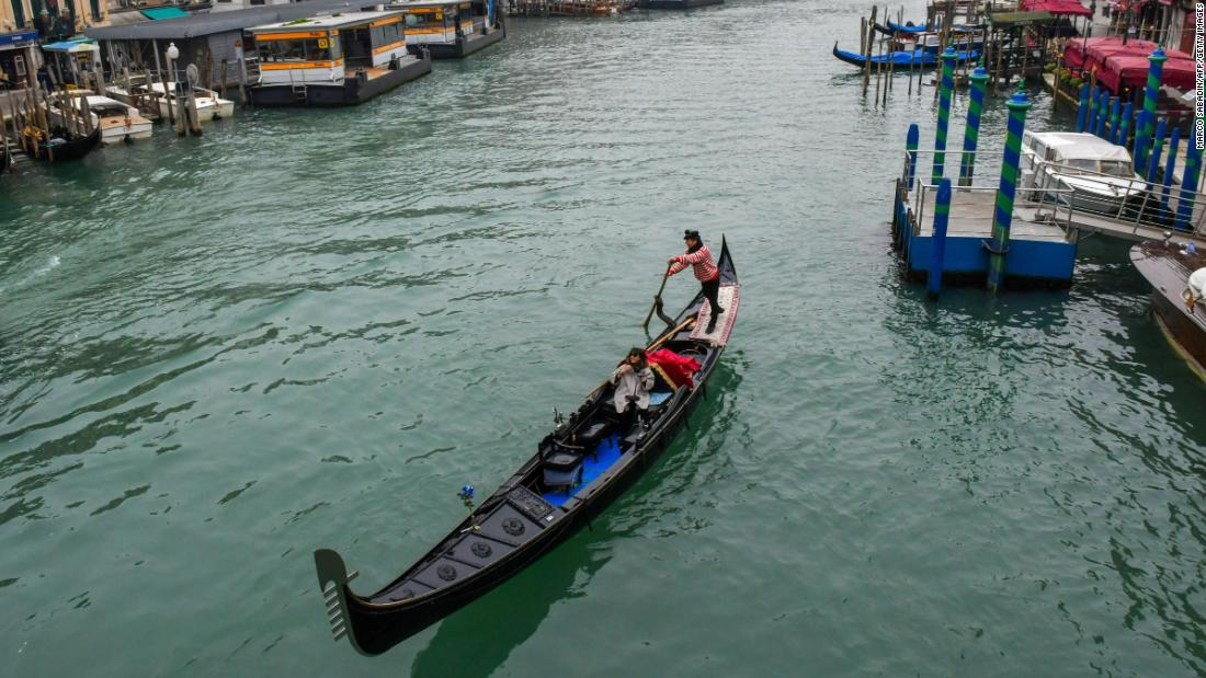 Venice is letting fewer people on its gondolas after complaints over fat tourists