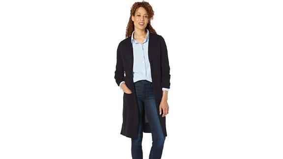Amazon Essentials Women's Lightweight Longer Length Cardigan