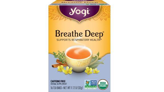 Yogi Tea — Breathe Deep
