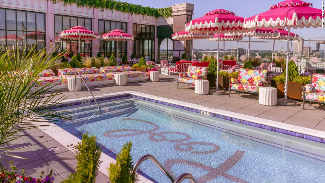 See Nashville's new Dolly Parton-themed rooftop bar