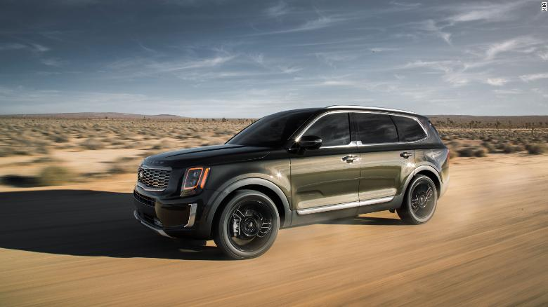 The Kia Telluride has won a series of awards.