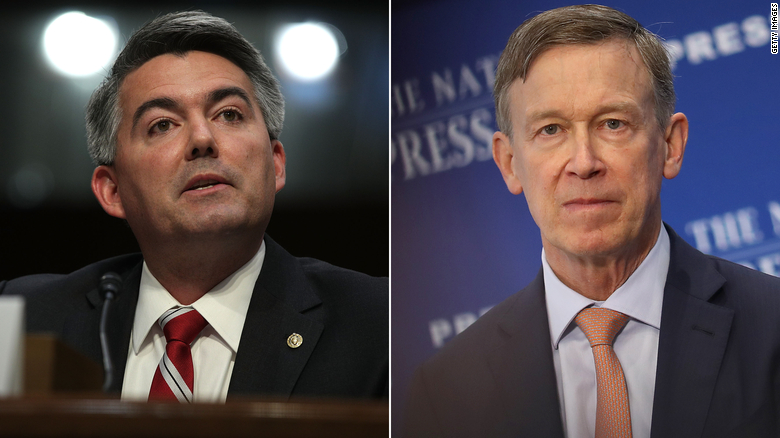Hickenlooper attacks Gardner over Supreme Court vacancy in Colorado Senate race