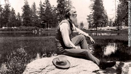 John Muir, a Scottish-born American naturalist, engineer, writer and pioneer of conservation and founder of the Sierra Club.