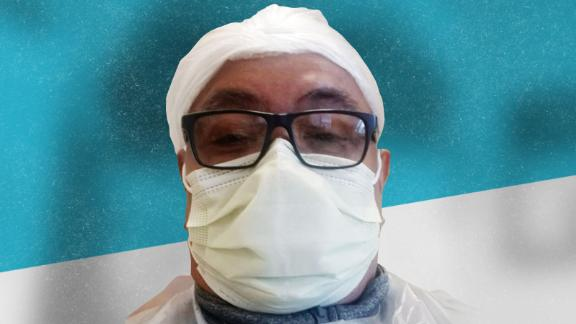Victor Sison posted photos of himself on Facebook shortly before he passed away of coronavirus.