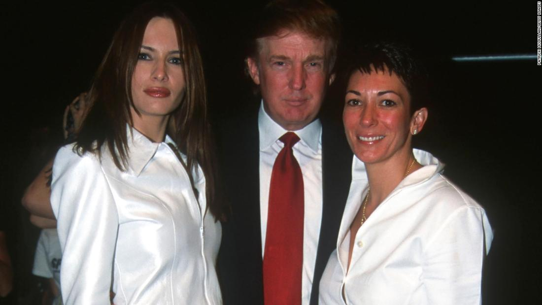 Trump defends wishing Ghislaine Maxwell well