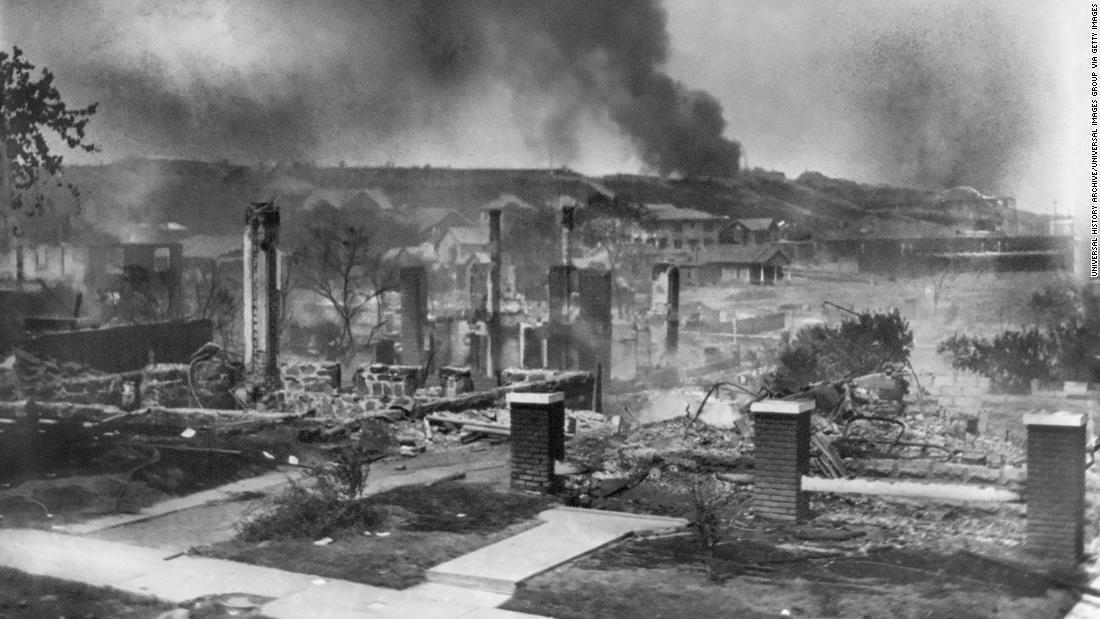 No evidence found in search for mass graves from the 1921 Tulsa race massacre
