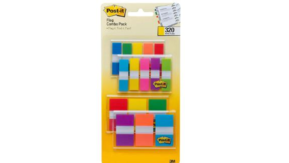 Post-it Flags Assorted Color Combo Pack