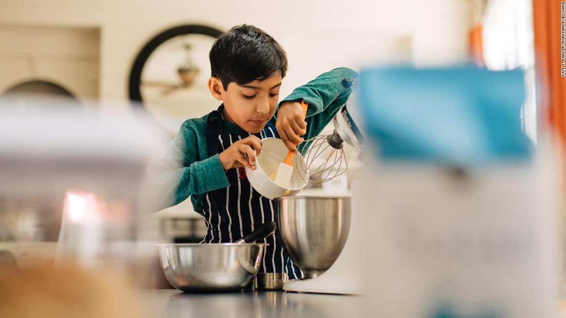 """I like cooking better than sports. In sports, you can't change up the rules. You have to dribble the ball or pass the ball a certain way. But with recipes, you can change them up and still have something great to eat."" -- Rohaan, age 9. <em>Gallery photos excerpted from ""The Heart of a Boy: Celebrating the Strength and Spirit of Boyhood."" Copyright © 2019.</em>"