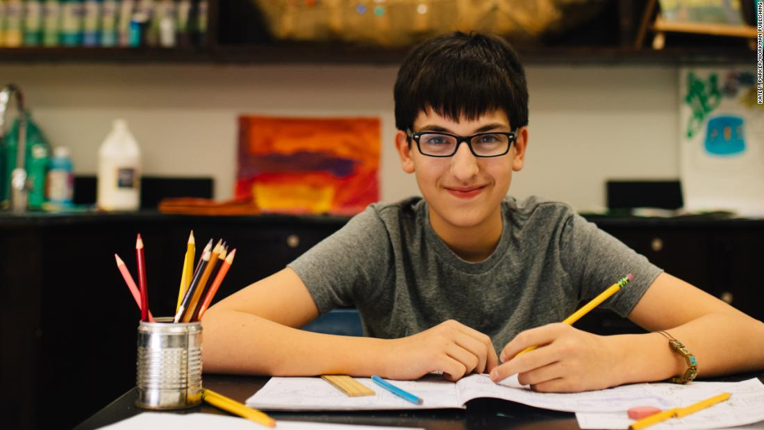 """When I'm drawing, my characters come alive, and it's as if they are right there speaking directly to me."" -- NIcholas, age 13."