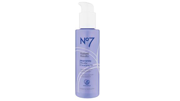No7 Radiant Results Nourishing Micellar Cleansing Oil