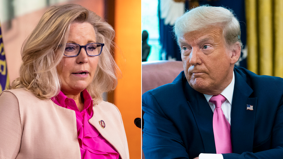 Liz Cheney says she won't support Trump if he runs in 2024
