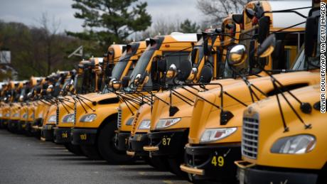 Covid-19 means many school bus riders might have no seat