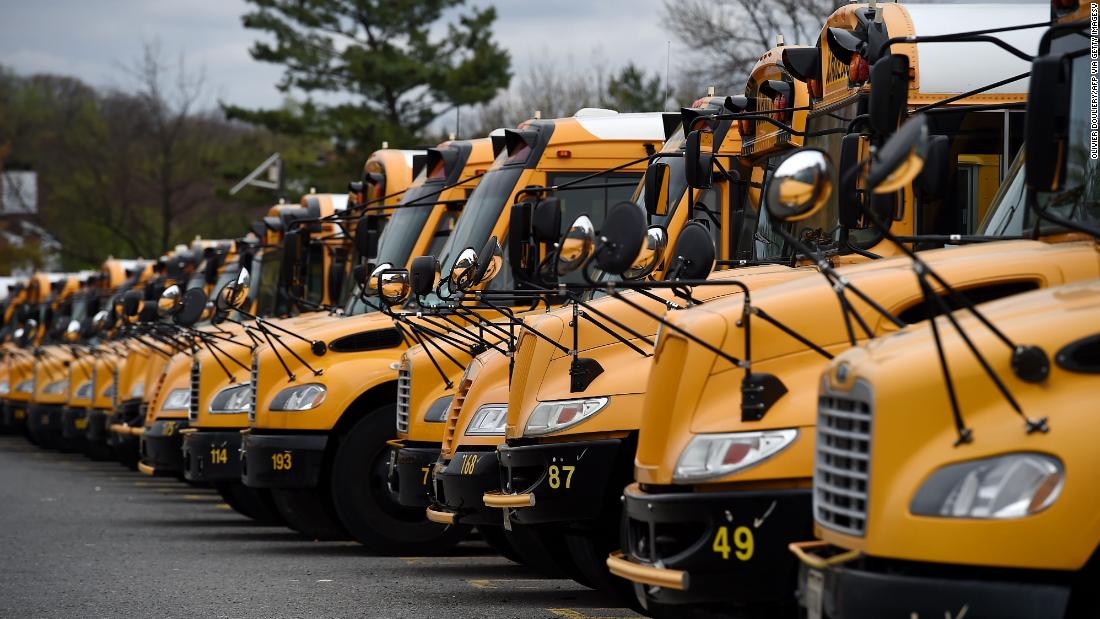 Coronavirus means many school bus riders could be left with no seat thumbnail