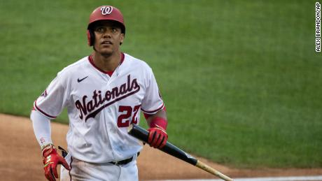 Juan Soto has tested positive for Covid-19.