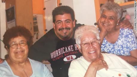 """Three sisters, Rita Haro, Jose """"Chico"""" Haro and Manuela """"Nellie"""" Johnson, died within seven days of each other. Their great-nephew, Michael Thompson, loved spending time with them."""