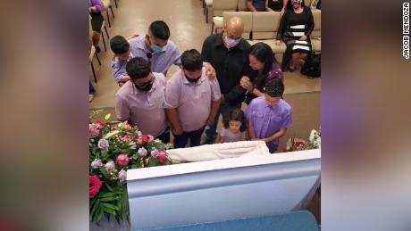 Carlos was able to attend Noehmi's funeral before succumbing to the disease himself.