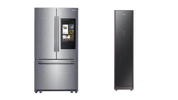 25.1-Cubic-Foot 3-Door French Door Refrigerator With Family Hub and AirDresser