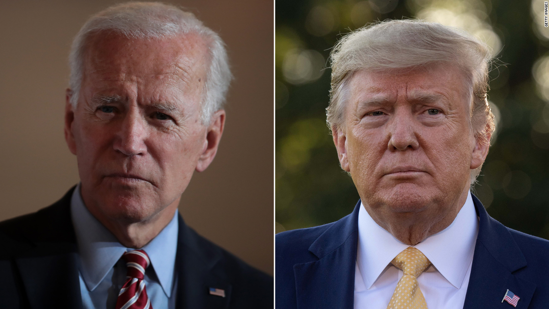 CNN Poll of Polls: Biden holds a nine-point lead over Trump ahead of the party conventions – CNN