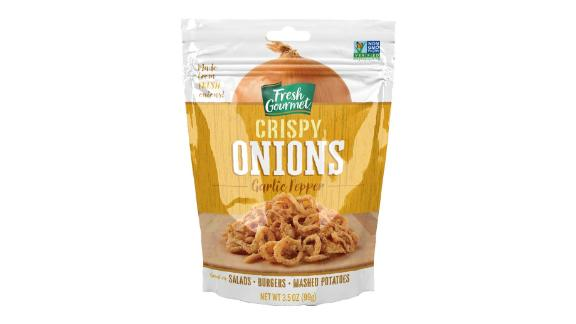 Fresh Gourmet Garlic Pepper Crispy Onions, 6-Pack