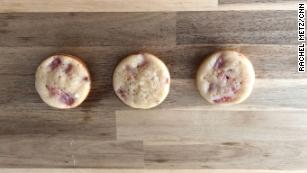 An AI-generated recipe for watermelon cookies sounded like it could work, with ingredients including watermelon, an egg white, and half a cup of sugar. It did not taste good, however.