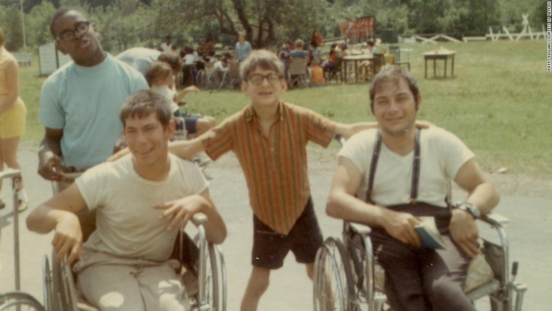 """Crip Camp"" 1968: At Camp Jened in the Catskills, youngsters with disabilities learned to be self-sufficient and proud. Some campers went on to found the disability rights movement that helped pass the Americans with Disabilities Act of 1990."