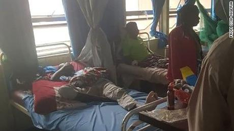 Victims of the attacks in southern Kaduna.