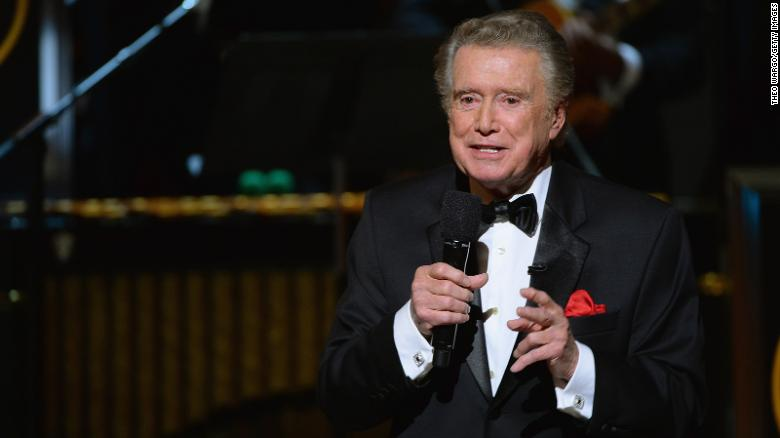 Regis Philbin speaks speaks onstage at Spike TV's Don Rickles: One Night Only on May 6, 2014, in New York City.