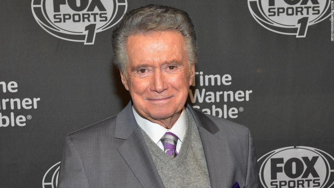 Regis Philbin television personality has died at 88 – CNN