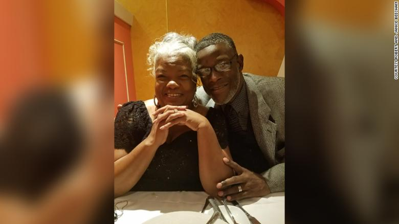 Robert and Janice Beecham were high school sweethearts and have been married for 46 years.