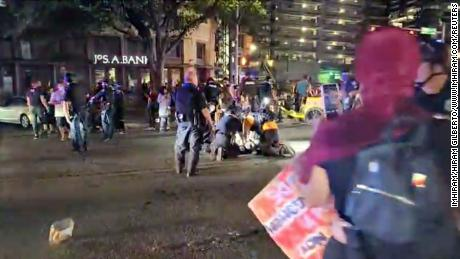 Carpool driver shot dead man at Austin BLM rally