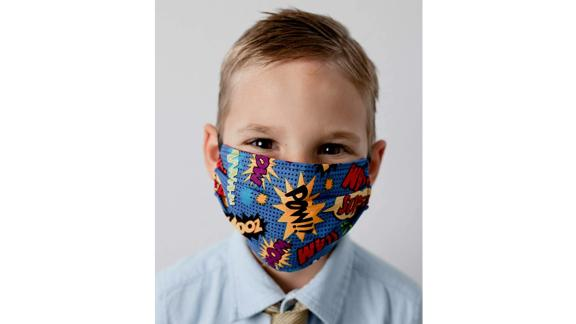 Cloth Fabric Face Mask, Superhero Theme