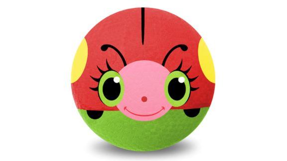Melissa & Doug Bollie Ladybug 8.5-Inch Rubber Kickball