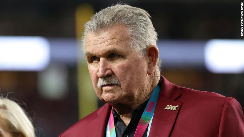 Famed football coach Mike Ditka who led the Chicago Bears to the Super Bowl disapproves of athletes who kneel during the national anthem as a form of protest.