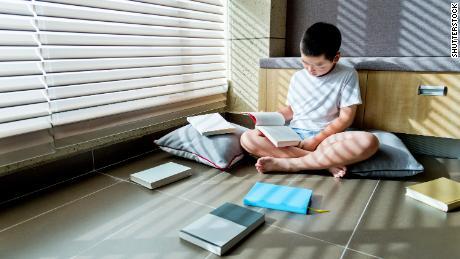 Children often naturally gravitate to the floor.