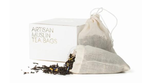 Artisan Muslin Tea Bags, 15-Pack