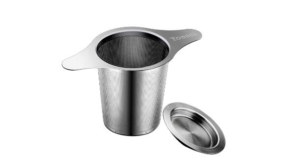 Yoassi FDA Approved 18/8 Stainless Steel Tea Infuser Mesh Strainer