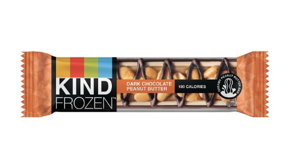 Kind Frozen Dark Chocolate Peanut Butter Bars