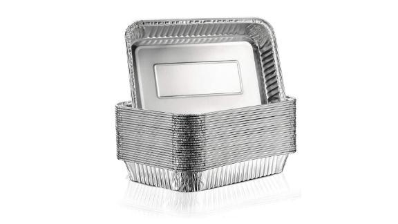 Aluminum Foil Grill Drip Pans, 25-Count