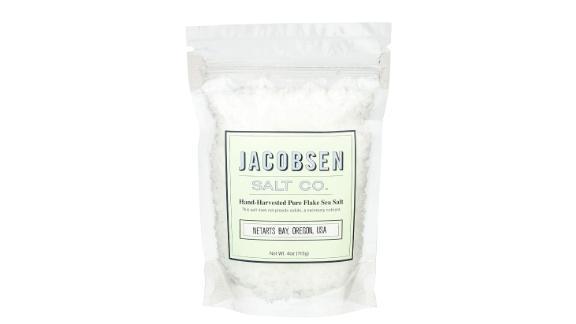 Jacobsen Hand-Harvested Pure Sea Salt, 4-Ounce