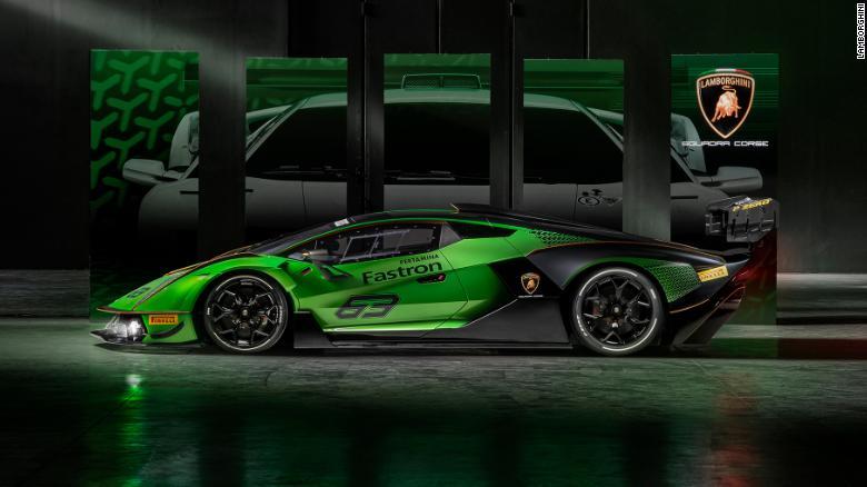 The Lamborghini Esssenza SCV12 has the most powerful V12 engine Lamborghini as ever produced.