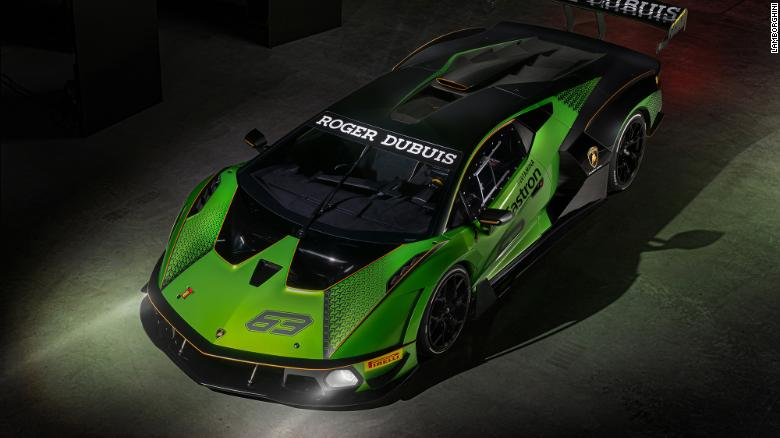 Lamborghini Essenza SCV12 owners will only be able to drive their cars on closed tracks.