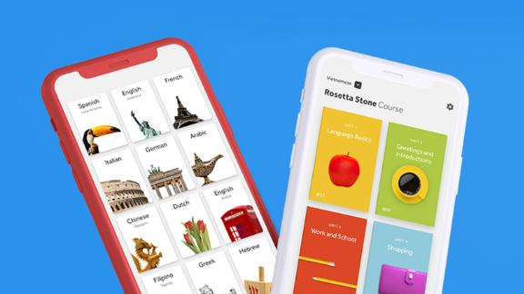 Learn new languages anywhere with Rosetta Stone