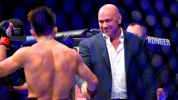UFC president Dana White reflects on 'Fight Island' and responds to critics