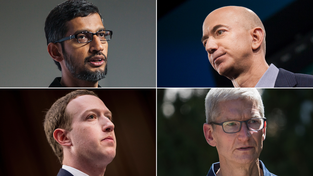 The biggest tech CEOs are about to be grilled by Congress