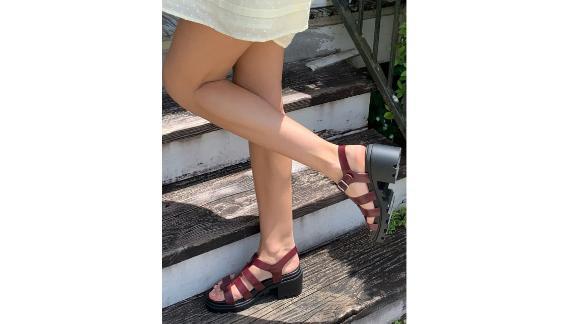 UO Lia Fisherman Heeled Sandal