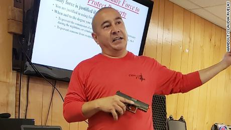 Rafael Cedillo says he was forced to triple the number of firearm safety classes he offers to meet the demand.