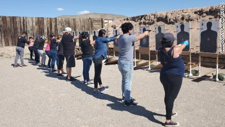 A firearm safety instructor in El Paso, Texas says more people were interested in getting licenses to carry guns in the months after last year's mass shooting at a Walmart store.