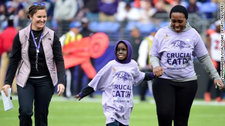 Baltimore Ravens superfan Mo Gaba has died at 14