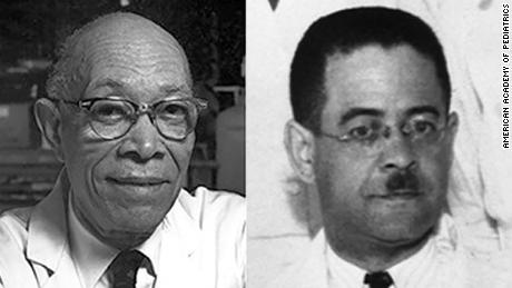 Dr. Roland Scott, left, and Dr. Alonzo deGrate Smith