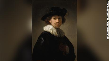 Who needs a model anyway? Rembrandt self-portrait sells for record $18.7 million